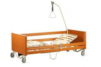 Noleggio letto degenza elettrico legno